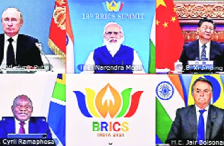 BRICS countries said on Afghanistan crisis, committed to combat terrorism