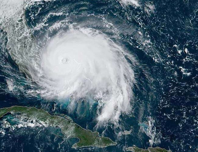 The storm that hit the US at a speed of 240 km devastated